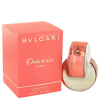 Omnia Coral by Bvlgari 1.4 oz 40 ml EDT Spray Perfume for Women New in Box