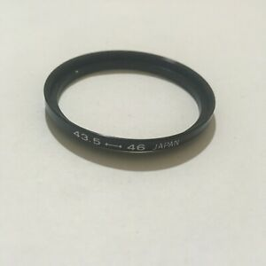 VINTAGE 43.5-46mm STEP UP FILTER RING MADE IN JAPAN -FREE SHIPPING