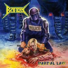 "Battery ""Martial Law"" CD [Violence War Thrash Metal from Denmark]"