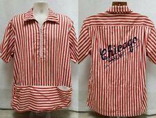 RARE Vintage CHICAGO WHITE SOX Beer Vendor Uniform Shirt - Size L/XL