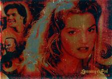 Buffy the Vampire Slayer Big Bads 2004 Seasons of Evil Foil Puzzle Card SE-3