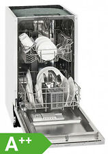 Exquisit EGSP1009E Einbau-Spülmaschine / EEK: A++ / 9MG / vollintegriert / 45 cm