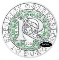 Pièce 10 euros commémorative AUTRICHE 2018 - Raphael, l'Ange Guerisseur - Argent