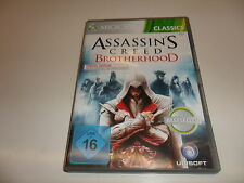 XBox 360  Assassin's Creed - Brotherhood