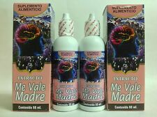 2 ME VALE MADRE GOTAS 60 ml - NATURAL MIGRAIN/STRESS RELIEF EXTRACT DROPS
