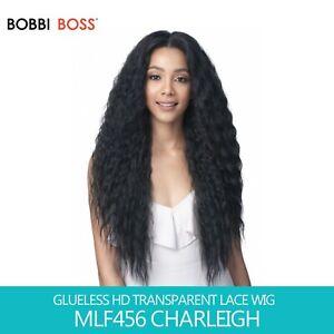 Bobbi Boss GLUELESS HD Transparent Lace Wig - MLF456 CHARLEIGH