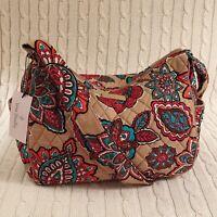 Vera Bradley On The Go Crossbody Purse Desert Floral Travel Cotton NWT MSRP $70