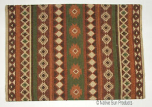 """Adobe Southwestern  Placemats Table Mats Woven Great Quality 13x19""""  #11078"""