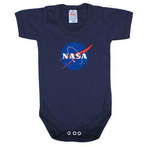 NASA Short Sleeve Baby Bodysuit Made in England
