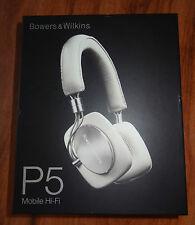 Bowers & Wilkins P5 Mobile Hi-Fi Headphones Kopfhörer B&W Ivory - NEU + OVP!