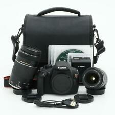 Canon EOS Rebel T5 DLSR Digital Camera Kit With 2 Lenses