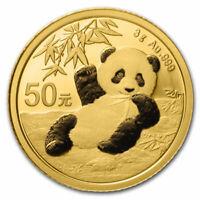 2020 China 3 gram Gold Panda BU (Sealed) - SKU#208670