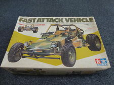 "Price down !! VINTAGE TAMIYA 1/10 ORIGINAL "" FAST ATTACK  VEHICLE "" R/C KIT NIB"