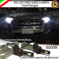 KIT LED HIR2 FORD RANGER CANBUS 6000K XENON 6400 LUMEN NO AVARIA ANABBAGLIANTI