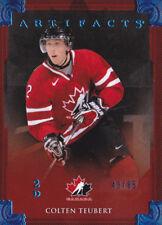 13-14 Artifacts Colten Teubert /85 Sapphire Blue Team Canada 2013