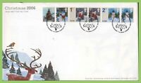 G.B. 2006 Christmas set on u/a Royal Mail First Day Cover, Bethlehem