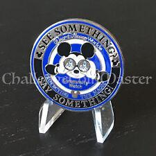 Walt Disney World Security Division Resort Police Challenge Coin RARE