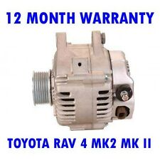 TOYOTA RAV 4 MK2 MK II 2.0 2000 2001 2002 - 2005 REMANUFACTURED ALTERNATOR