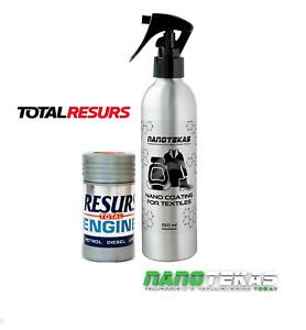 RESURS Total Nano Engine Oil Additive engine Restorer & nano Textile Protection