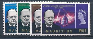 MAURITIUS 1966 CHURCHILL COMMEMORATION SG336/339  MNH