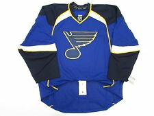 ST. LOUIS BLUES AUTHENTIC HOME TEAM ISSUED REEBOK EDGE 2.0 7287 JERSEY SIZE 58