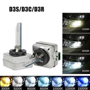 Set(2) D3S/D3C/D3R HID Xenon Bulb Replace Factory HID Headlight Bulb 4300K-8000K