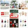 Christmas Tree Hanging Pendant Doll Santa Claus Ornament Home Xmas Party Decor