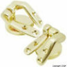 GILT BRASS SEAT HINGES FOR WOODEN SEAT