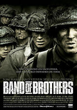 Band of Brothers Giant Wall Art Poster Print - A0 A1 A2 A3 A4 Sizes