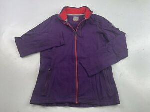 Icebreaker Merino Full Zip Jacket, Base Layer Women's Small Purple
