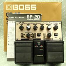 BOSS GP-20 AMP FACTORY Guitar Amp Processor Twin pedal Free shipping (ZO20213)