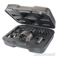 TCT Core Drill Kit 9pce 30, 50 & 110mm TRAPANO TRAPANI Core