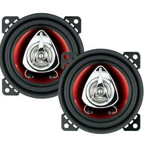 """BOSS CH4220 Chaos Exxtreme 4"""" 2-Way Speaker Pair 200W"""