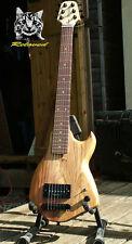 Reloved Guitars 'Oakcaster #7' unique custom electric travel guitar full scale