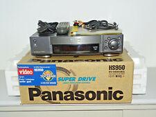 Panasonic nv-hs950 S-VHS Video recorder in OVP W. NUOVO. fb&bda, 2j. GARANZIA