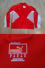 Women's Puma M NWT Red & White Zip Up Jacket iCoach