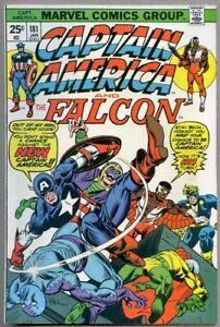 Captain America #181-1975 nm- 9.2 Falcon / 1st New Captain America