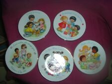 """Avon Collectible Set Of 5 Mothers Day Plates 5"""" 1989,1990,1991,1992,19"""