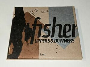 """FISHER """"Uppers & Downers"""" 2-Disc CD Set Kathy Fisher/Ron Wasserman AUTOGRAPHED"""