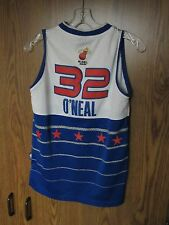 SHAQUILLE O'NEAL OLYMPIC 2 jersey LOT boys size large NBA Shaq 2006 ALL STAR