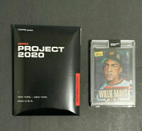 Topps PROJECT 2020 - Willie Mays by Jacob Rochester - Card #101 - PR 10568