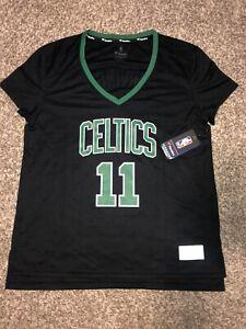 NWT Boston Celtics Kyrie Irving Fanatics Jersey Black Size Large Women