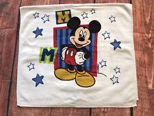New listing Vtg Walt Disney Mickey Mouse Kid's Bath Beach Towel Disneyland toy terry cloth