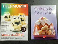 * Thermomix Rezepte Mai 21 + Backbuch Cakes & Cookies * Top Zustand