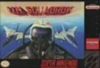 UN Squadron - Super Nintendo SNES Game Authentic