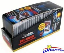 Box (25) Ultra Pro One Touch Magnetic 100pt UV Card Holders Display Case#81911UV