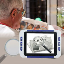 """3.5"""" Color LCD Pocket Electronic Video Magnifier 4 Low Vision Read Aid 32x"""