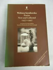 Wislawa Szymborska Poems New and Collected 1957-1997 Paperback Faber&Faber 1999