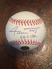 "Willie Mays Signed Autographed Auto ROML Baseball ""660 HRS"" Say Hey Authentic"