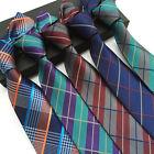 Mode Jacquard tissé Mariage Homme Cravate étroit Polyester cravate en soie Fête